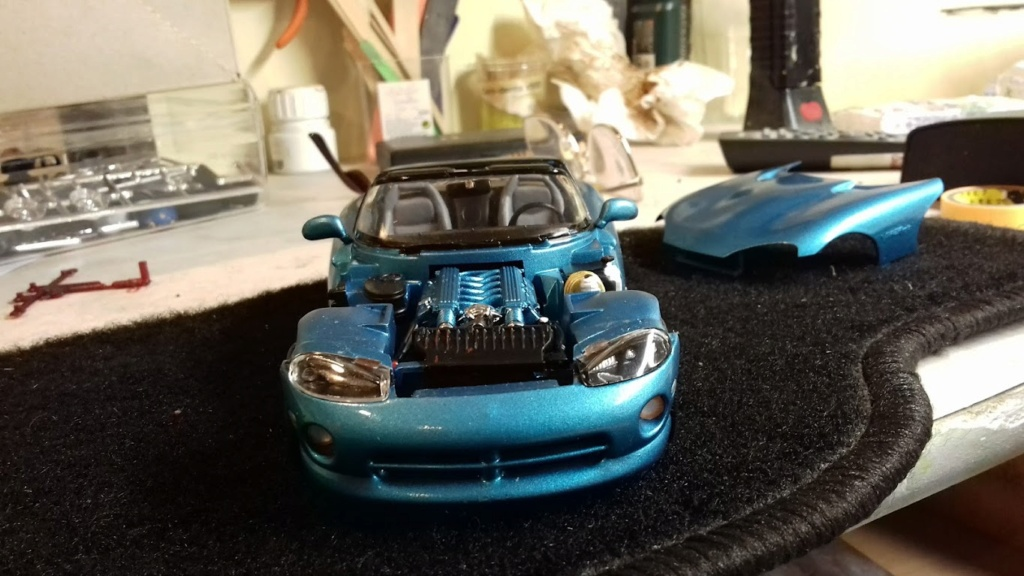 From The Box - DODGE VIPER R/T 10 Revell au 1/25 *** Terminé en pg 2 - Page 2 20210914