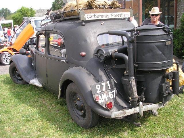 traction 1/43 heller avec son gazogène ,finie  Ab40f710