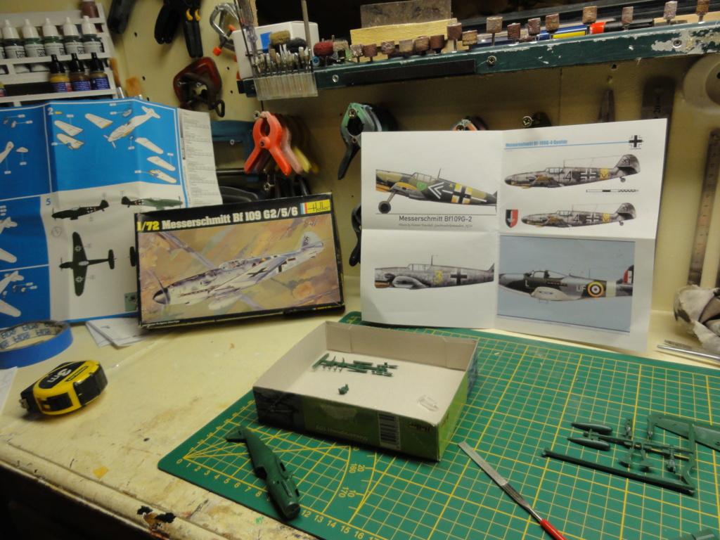 Heller - Messerchmitt Bf-109 - 1/72 : le Scratcheur se lance Dsc00445