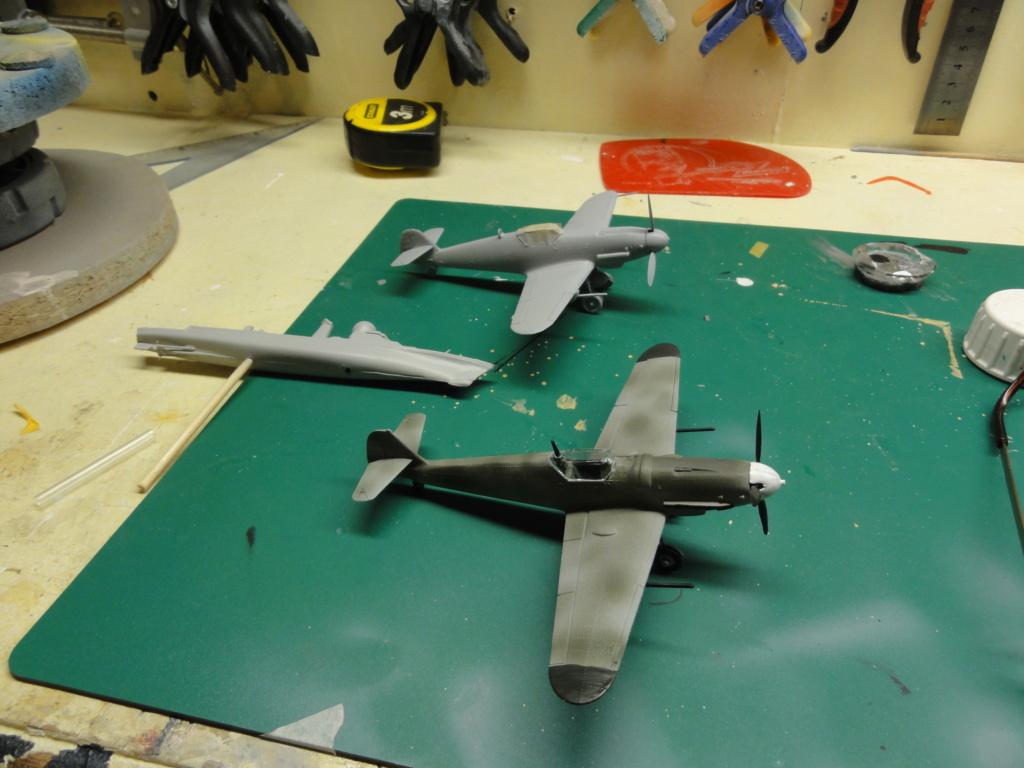 Heller - Messerchmitt Bf-109 - 1/72 : le Scratcheur se lance - Page 2 Dsc00453