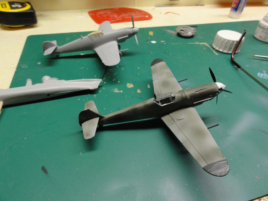 Heller - Messerchmitt Bf-109 - 1/72 : le Scratcheur se lance - Page 2 Dsc00454