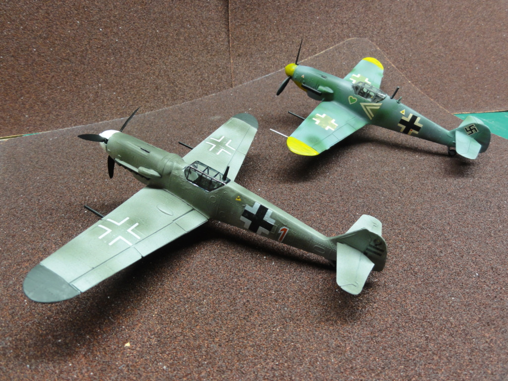 Heller - Messerchmitt Bf-109 - 1/72 : le Scratcheur se lance - Page 2 Dsc00462