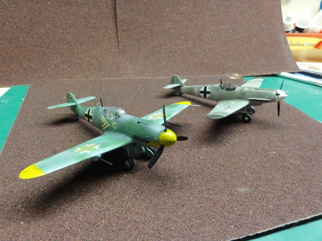 Heller - Messerchmitt Bf-109 - 1/72 : le Scratcheur se lance - Page 2 Dsc00463