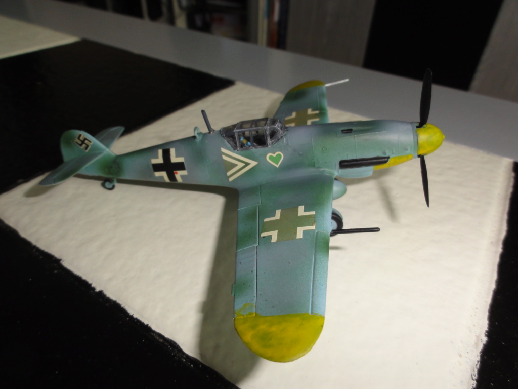 Heller - Messerchmitt Bf-109 - 1/72 : le Scratcheur se lance - Page 2 Dsc00466
