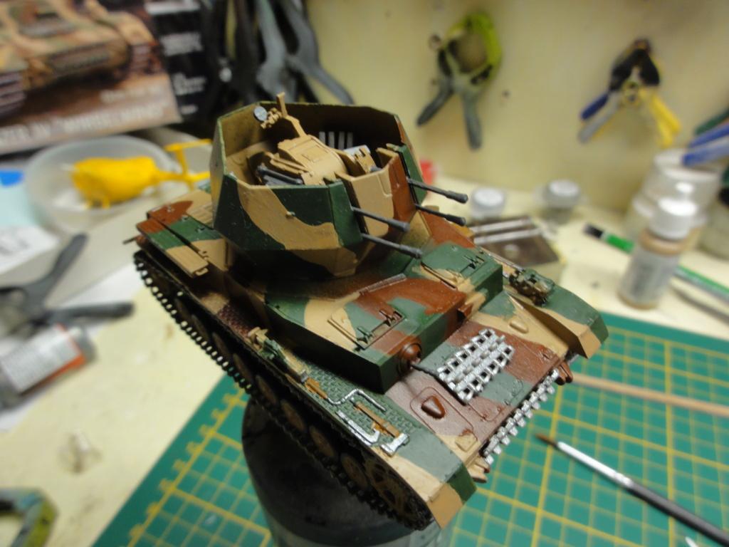 1er diorama avec blindés allemands au 1/72 Dsc00626
