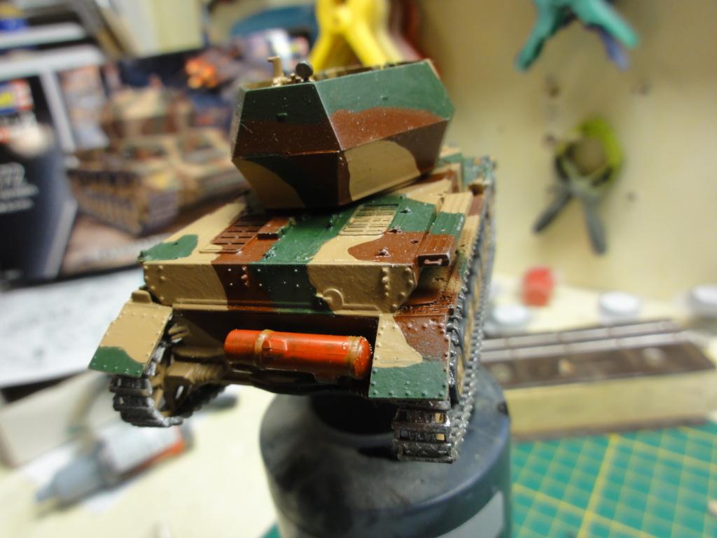 1er diorama avec blindés allemands au 1/72 Dsc00629