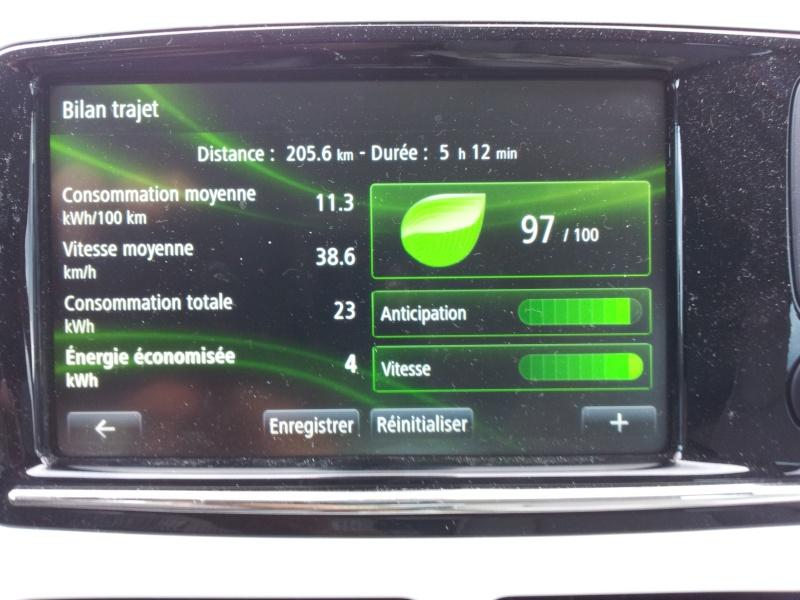 205,6 km sans recharger 20130811