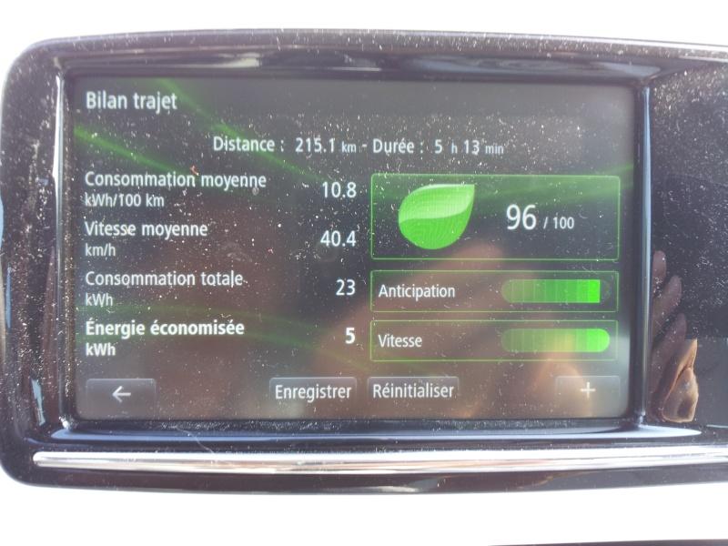 215,1 km sans recharger ! Mieux que les 210 km en NEDC ! 20130815