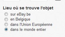 eBay searcher Dd10