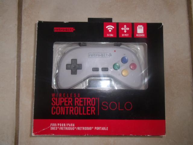 [SNES] Review : Super Retro Controller SOLO Dscf7518