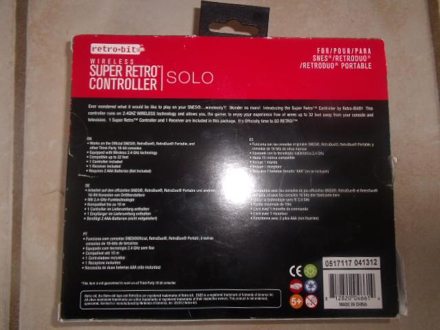[SNES] Review : Super Retro Controller SOLO Dscf7519
