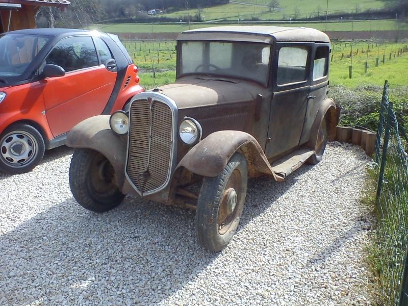 Encore une Rosengart.....une LR47 de 1935 210