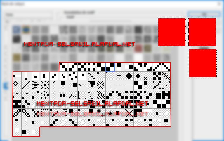 مجموعة ايطارات منقطة على الصور للفوتوشوب 5512