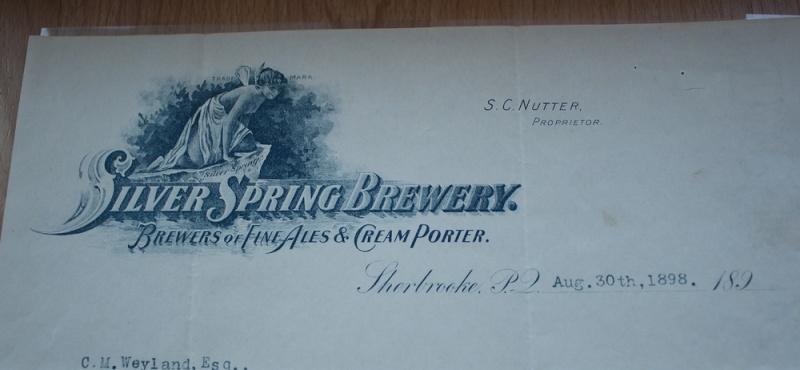 Lettre Silver Spring brewery Logo210