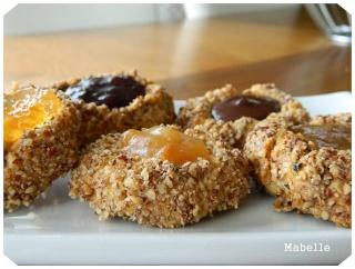 Biscuits aux noix et à la confiture Biscui10
