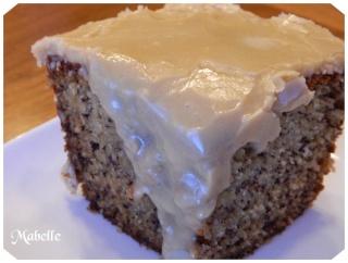 Gâteau aux bananes et sucre à la crème Gateau14