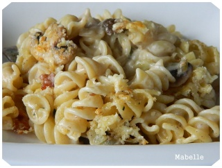 Macaroni au cheddar vieilli et au parmesan Macaro14