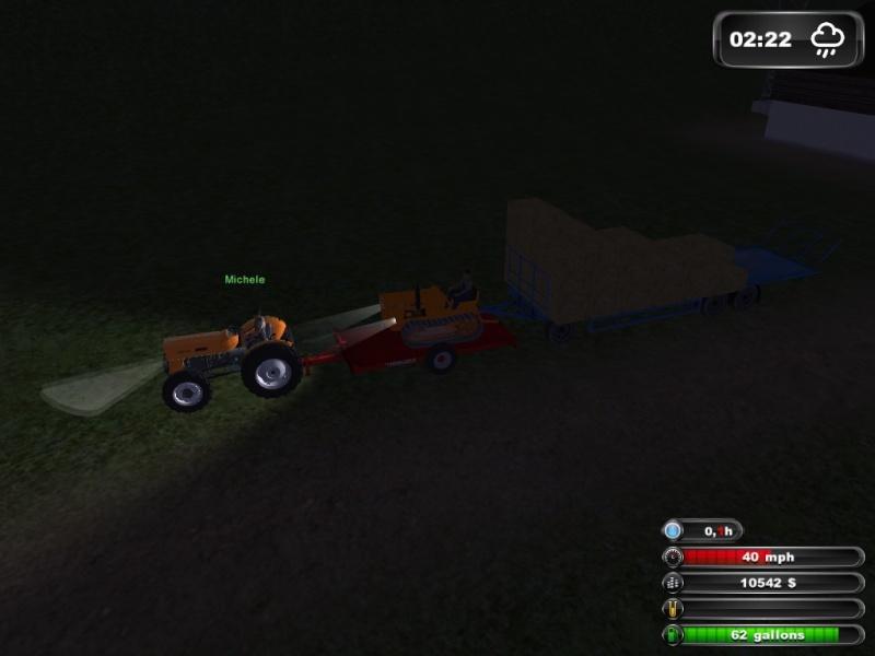 bellissima partita multiplayer con michael93 e michele 08/03/2013 farmng simulator  2011 :) Lsscre16