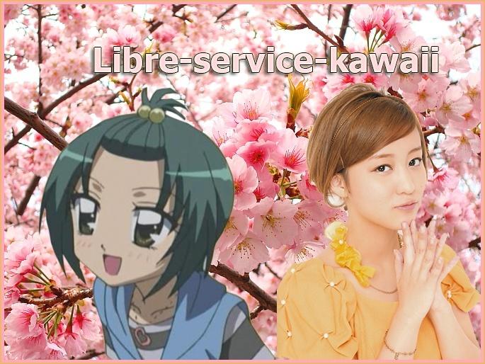 Libre service Kawaii