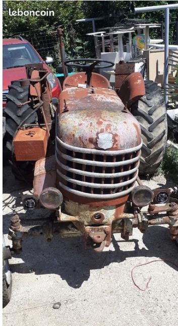 TRACTEUR - tracteur Labourié Captur87