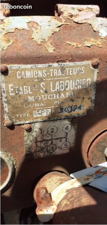 TRACTEUR - tracteur Labourié Captur89