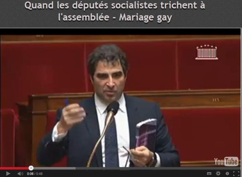 Quand les députés socialistes trichent à l'Assemblée Nationale Depute10