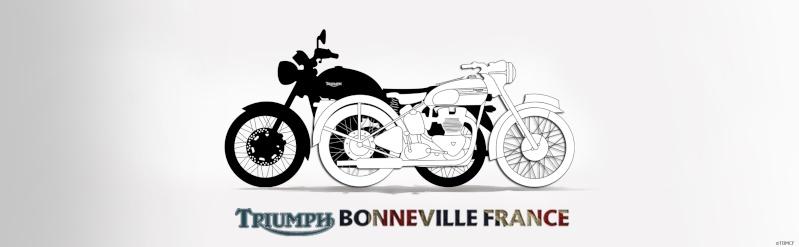 TRIUMPH BONNEVILLE FRANCE Logob10