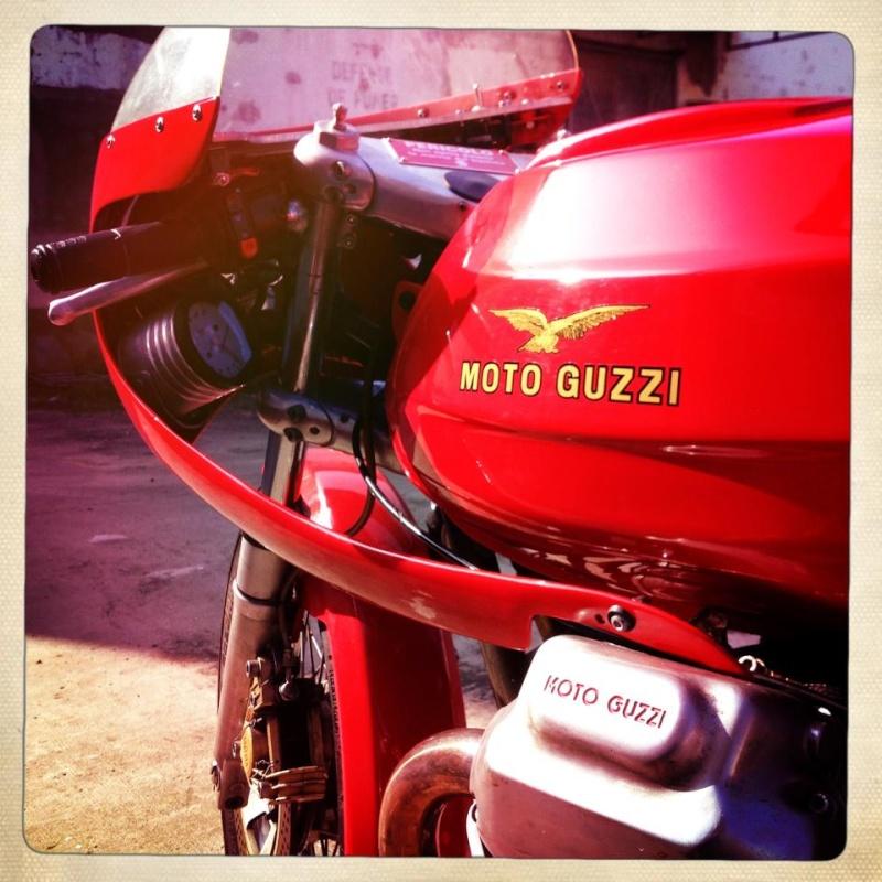 Guzzi... juste l'essentiel des Café Racer 2, la suite... - Page 2 Olivie12