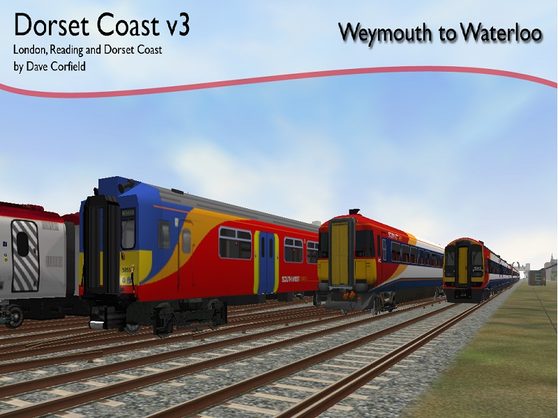 Dorset Coast V3 to V6 Dcv310