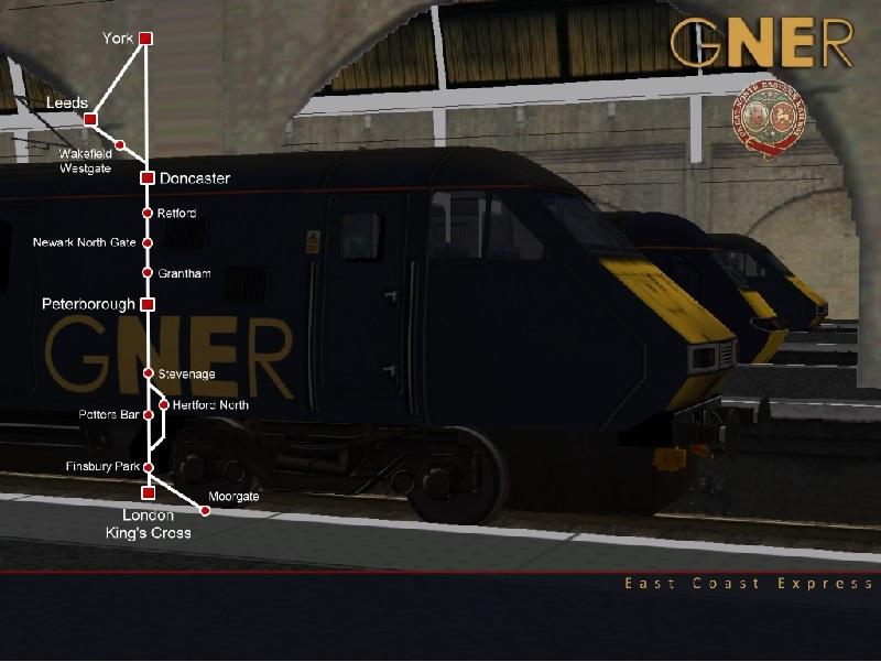 East Coast Express Parts 1 to 4 - EB Ecml1410