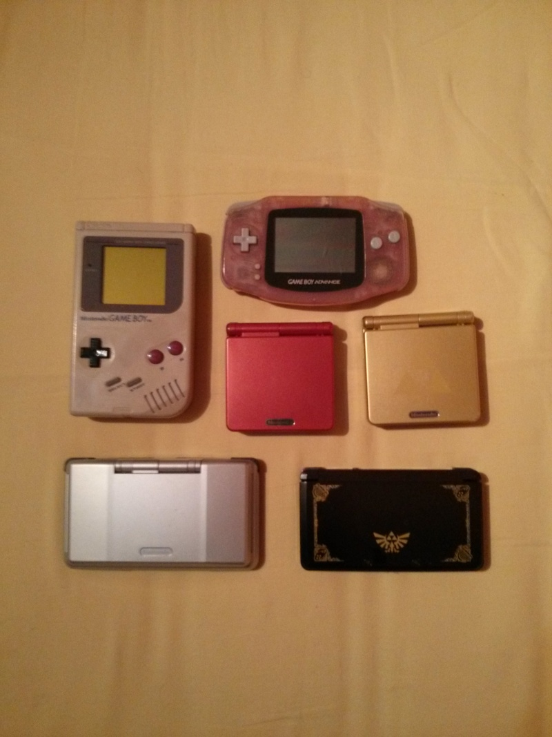 Ma collection - Whit3stR Ninten10