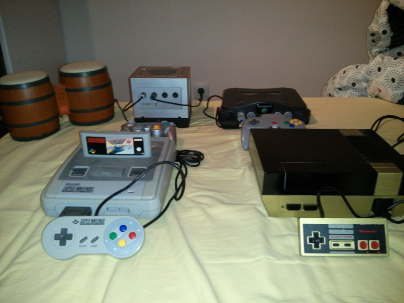 Ma collection - Whit3stR Ninten11