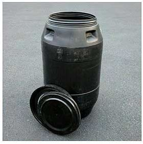 pickle barrel for composting 55_gal13