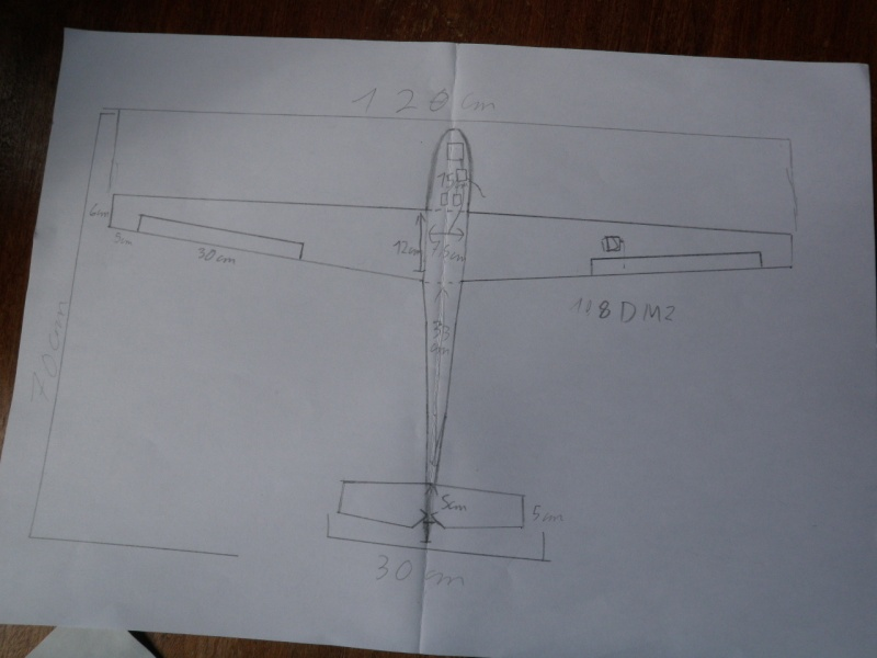 construction semi maqette dépron  P1010410
