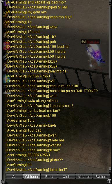 Scammer ng 100PHP LOAD and BUGGER na din si AceGaming Saygoo13