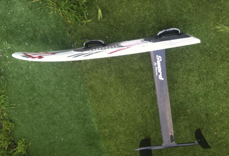J'ai ma nouvelle sword taaroa 310