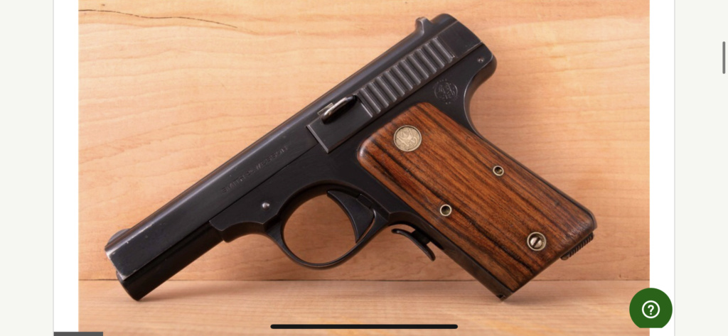 Smith and Wesson 32 automatic pistol 1924 8cc77410