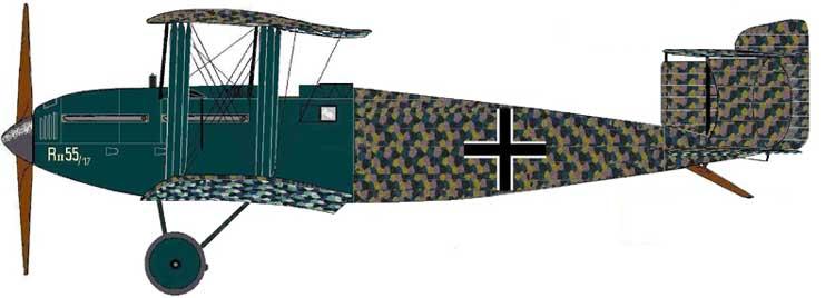 Riesenflugzeug Linke-Hofmann R.II von 1918 Linke-10