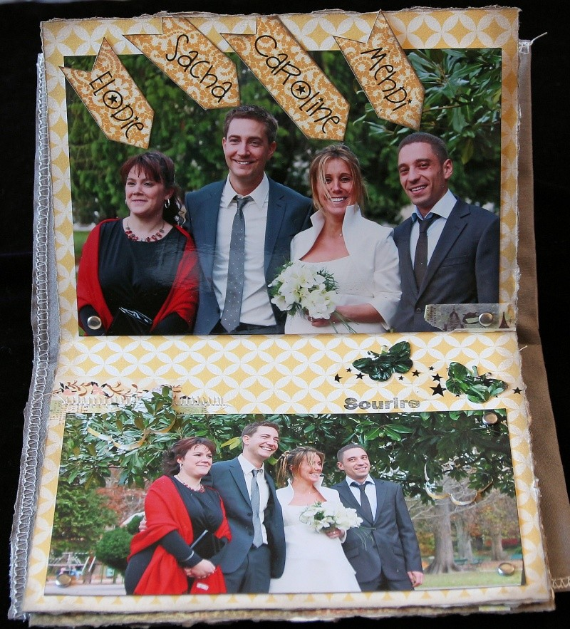 Mini album les mariés avec les temoins Img_0239
