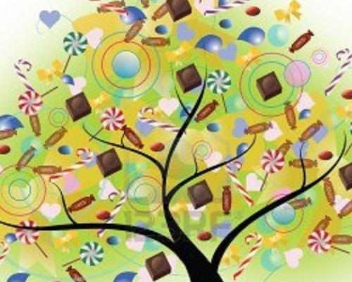 Chocolat et sucres d'orge. [Pv Lucas] 13308210