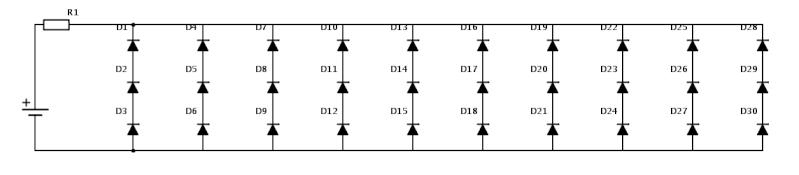 Montage de LEDs Scheme11