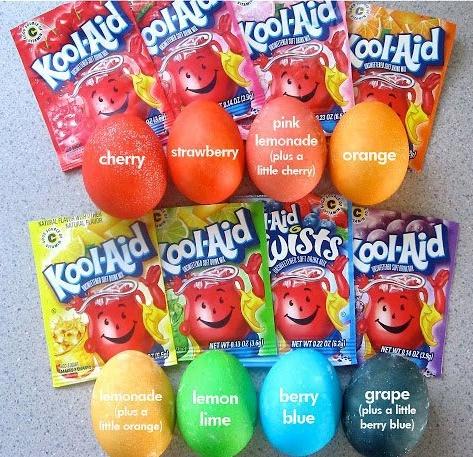 Cheap(er) Easter egg dye Koolai10