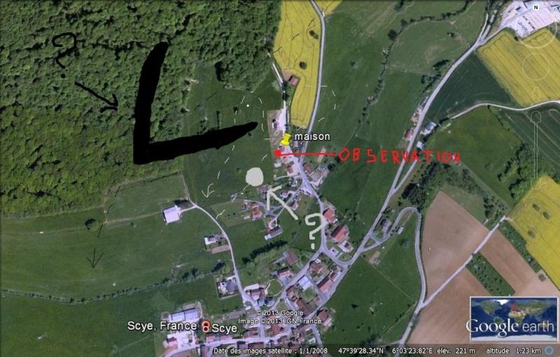 2013: le 25/02 à 22H20 - Aile volante en forme de boomerang - scye -Haute-Saône (dép.70) Scye10