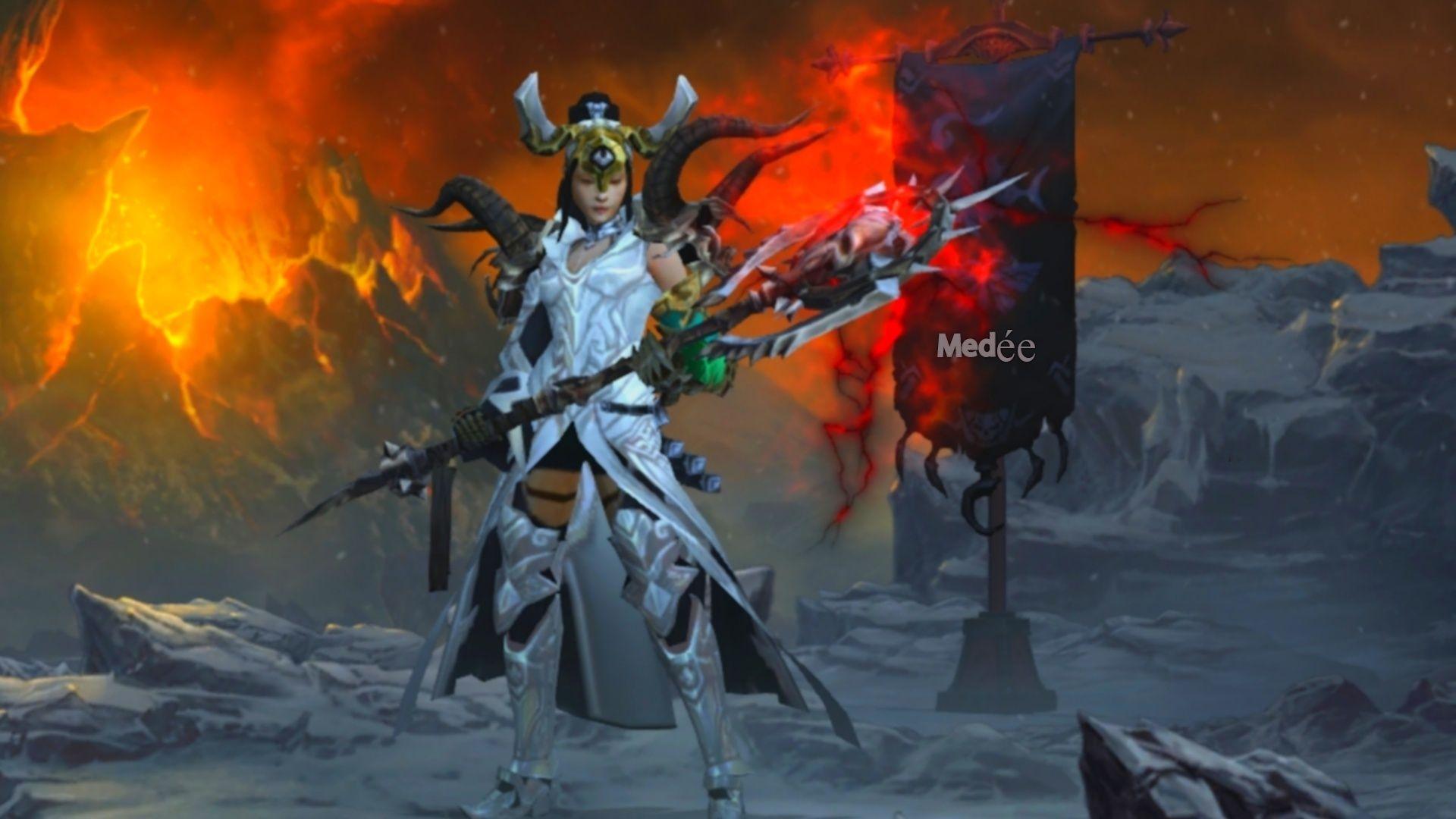 Medée  sorcière diablo 3 Medae110