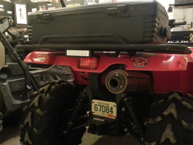 Reverse light for your grizzly  20130417
