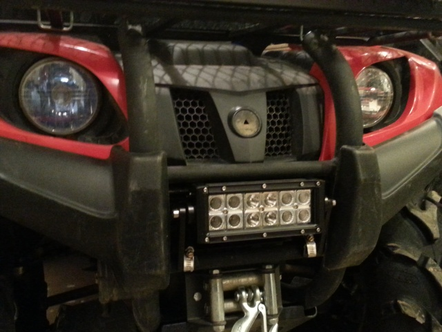 Some LED's on a Grizzly 20130419