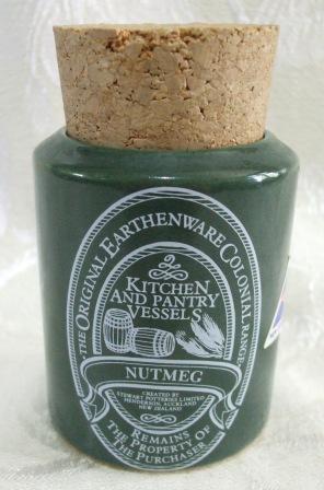 Stewart Pottery 'Kiwifruit Country' Nutmeg10