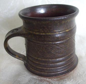 Old Ringed mug Potter10