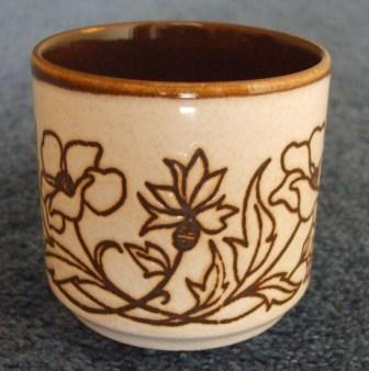 No name floral bowl & cup - the bowl is Debonair Deco 637 Pretty11