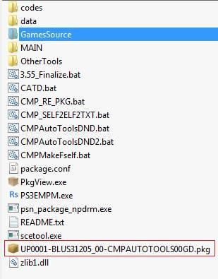 PS3] PS3 Eboot Modifier & Package Maker - Créez vos PKGCHEAT